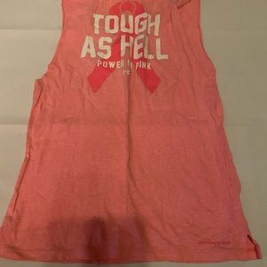 Under Armour Breast Cancer Cut Off